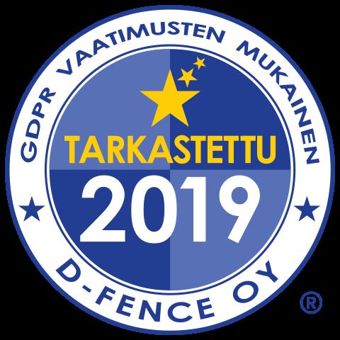GDPR tarkastettu D-Fence 2019-LARGE-300